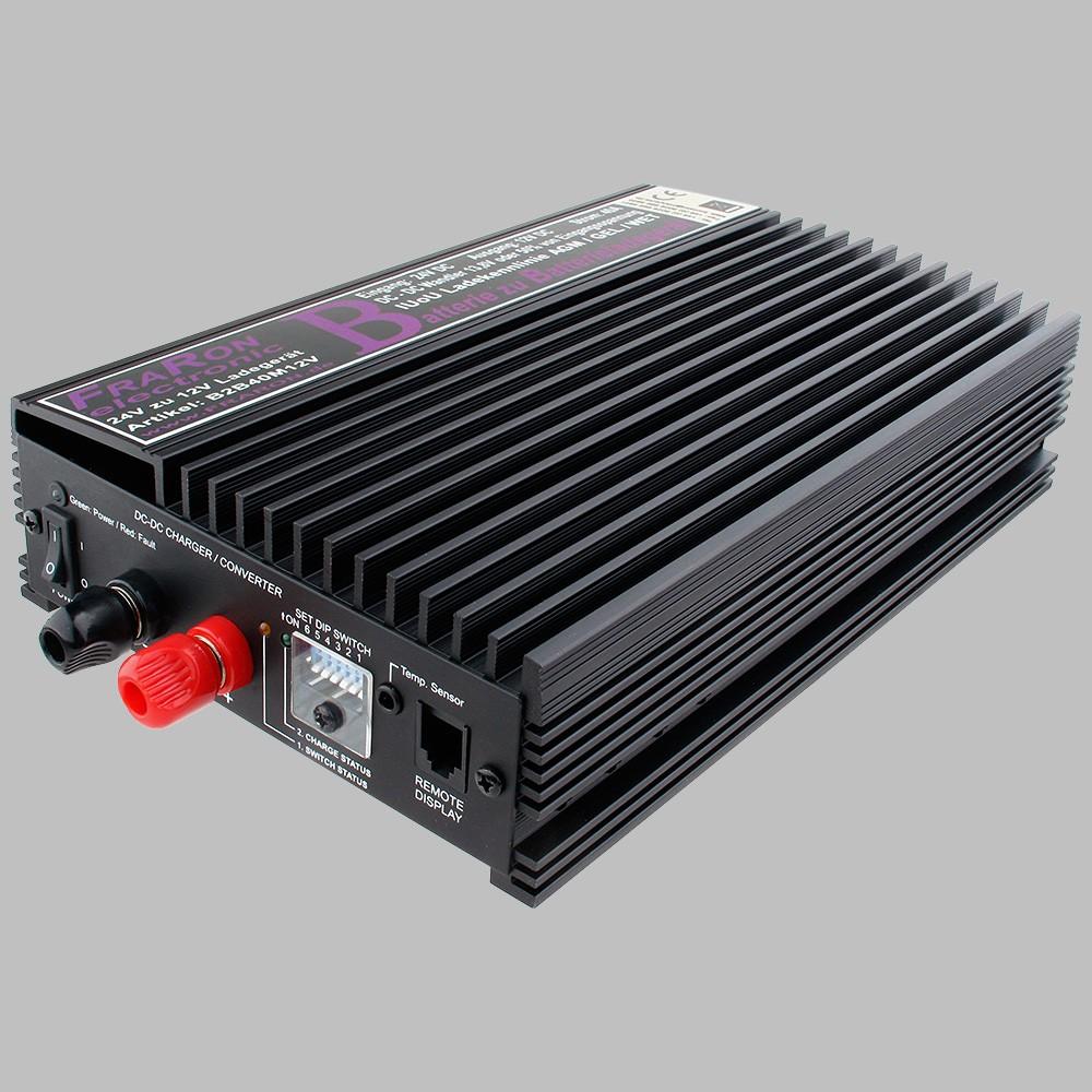 Batterie zu batterieladegerät 24v nach 12v mit 40a iuou ladebooster