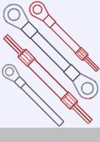 Cross section 22mm² / AWG4