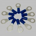10 x Ring tongue 1,5-2,5mm², blue, M6