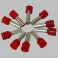10 x wire ferrule 10mm², red