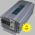 Power inverter modified sine wave 2500 Watt 24V