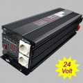 Power inverter modified sine wave 5000 Watt 24V