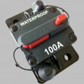 100A circuit breaker with reset / surface mount