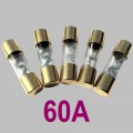 60A glass tube fuse Type AGU, 5pcs. per Set