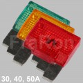Car Maxi fuse 29mm, 30A, 40A, 50A, please select