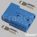50 Amp double pole housing Set incl. terminals AWG6 / 16mm²