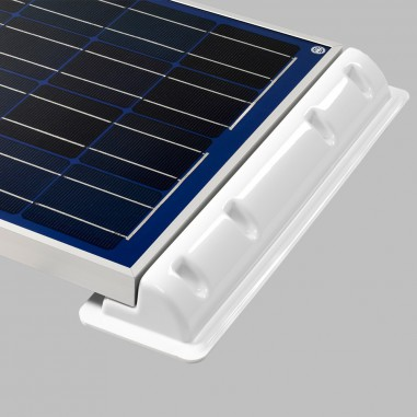 Mounting spoiler (2pcs.) for solar cells, Length 35cm