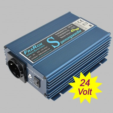 Power inverter pure sine wave 350 Watt 24V