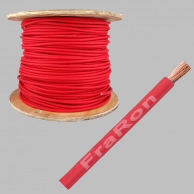 SGX Battery cable 22mm², AWG4, red