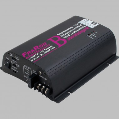 IUoU Automatic Battery Charger 12 Volt 20 Ampere