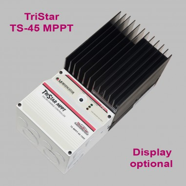 MPPT Solar charge controller 45A for 12V-48V Battery systems, TriStar