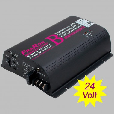 IUoU Automatic Battery Charger 24 Volt 10 Ampere