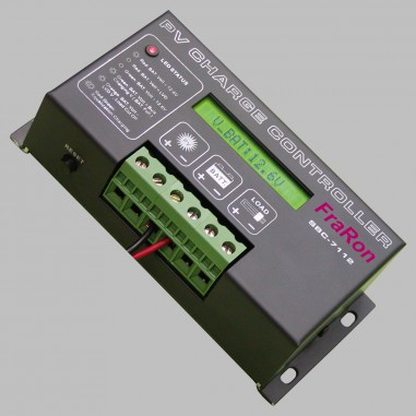 PWM Solar charge controller 30A with Display for 12V Batteries
