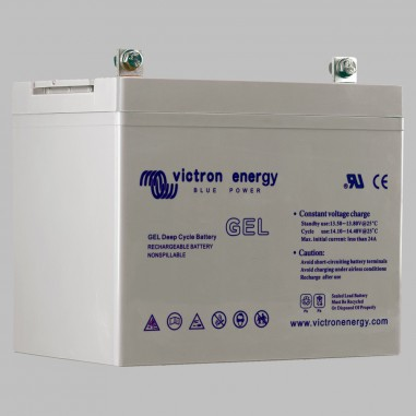 60AH GEL semi traction battery deep cycle BlueSolar