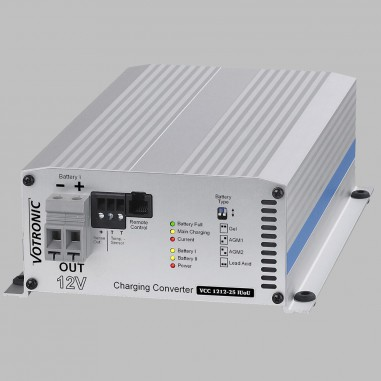 Battery to Battery charger 12V to 12V 25A, IUoU, charging booster