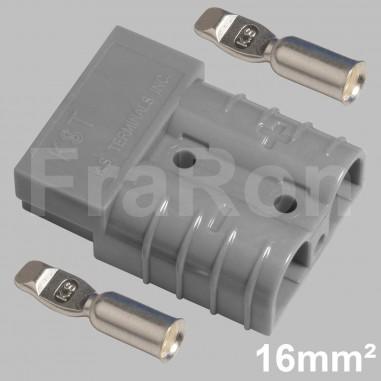 120 Amp double pole housing Set incl. terminals AWG6 / 16mm²