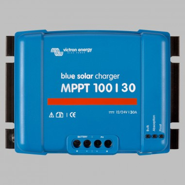 MPPT Solar charge controller 30A for 12V / 24V Battery Systems, max. PV voltage 100V