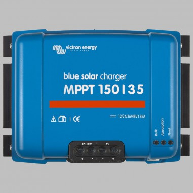 MPPT Solar charge controller 35A for 12V / 24V / 36V / 48BV Battery Systems, max. PV voltage 150V